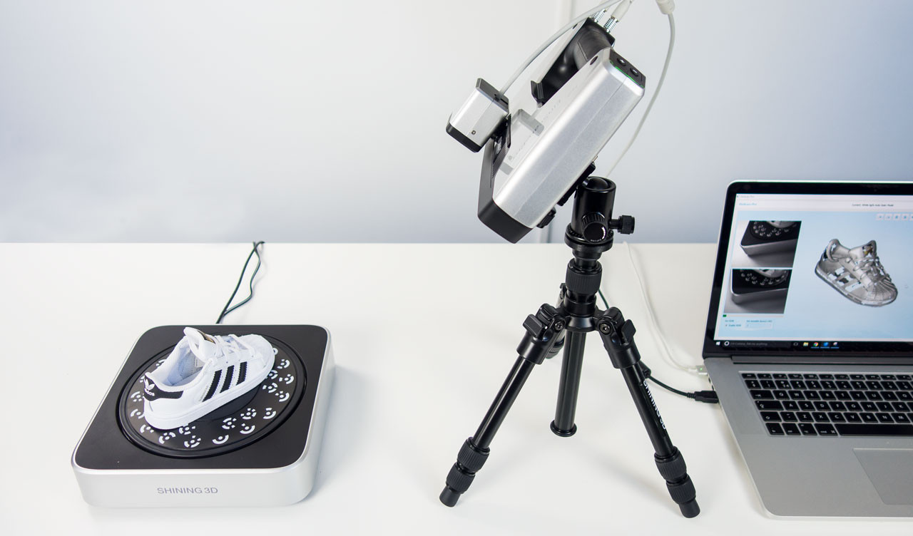 Tổng quan về máy quét 3D Einscan Pro Plus - Máy quét 3D đa chức năng; dòng máy quét được phát triển bởi hãng Shining 3D. Einscan Pro Plus được sử dụng....