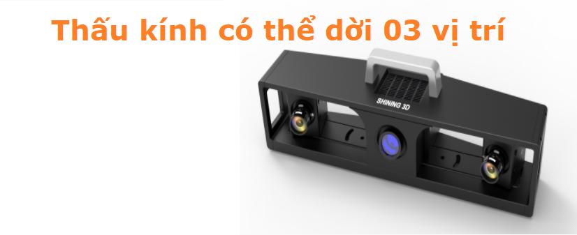 Máy quét 3D Eascan-II || Máy quét 3D công nghiệp giá cạnh tranh nhất.