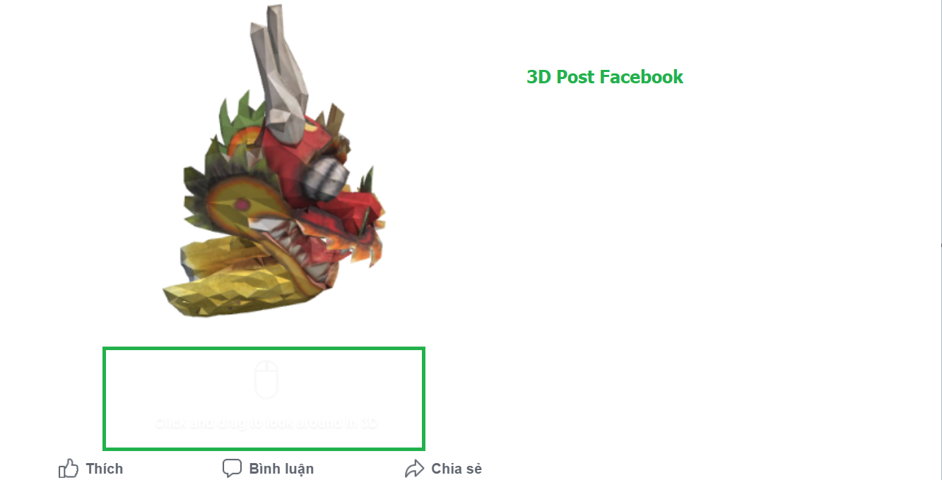 3D Post Facebook | Cách Tạo Và Đăng Bài 3D Lên Facebook