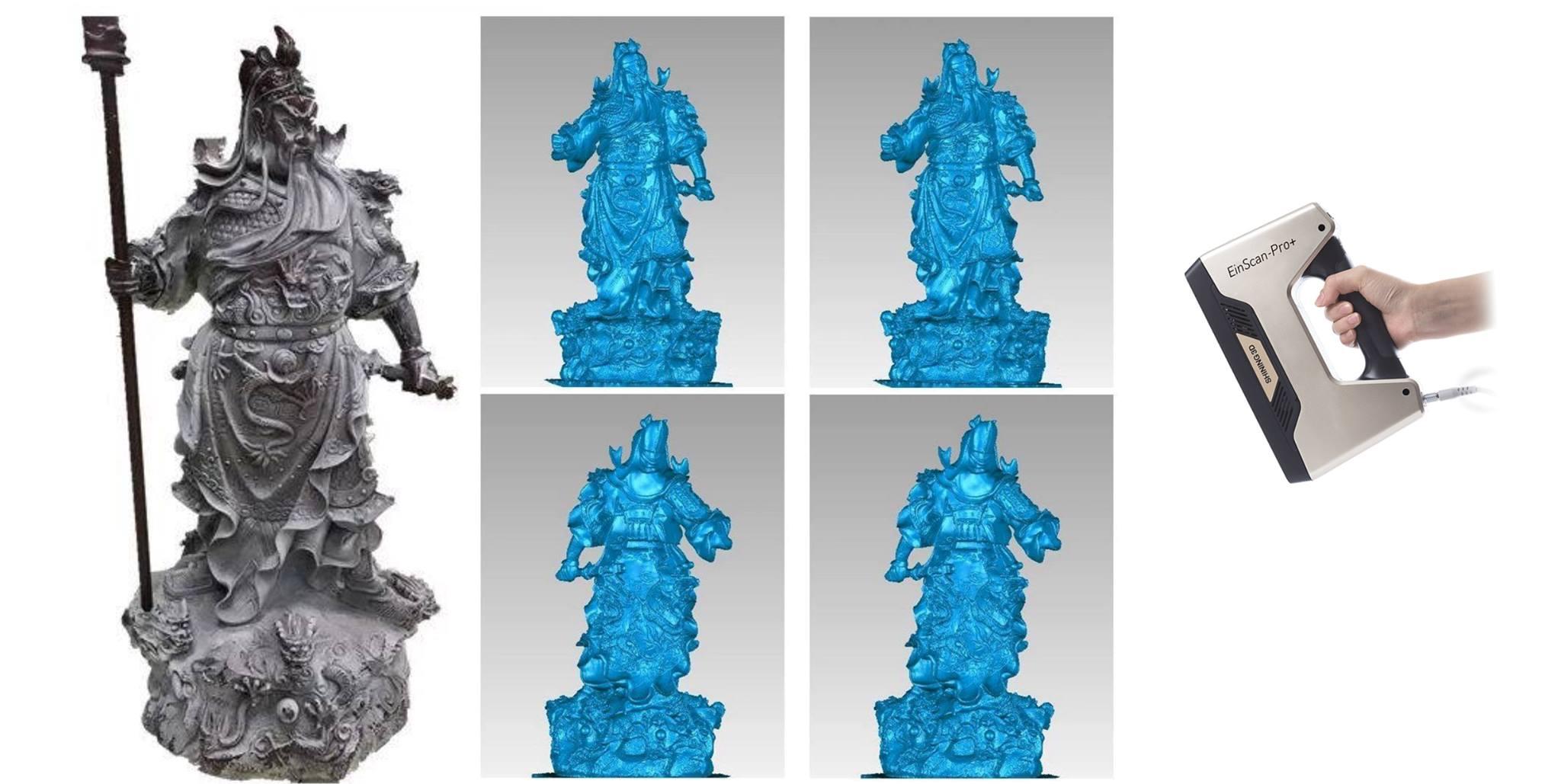 Một số ứng dụng tiêu biểu của máy scan 3d ( máy quét 3d )