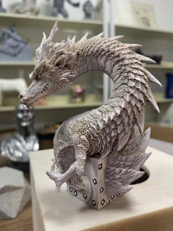 Sử dụng máy quét 3D dùng để quét sản phẩm mỹ thuật.