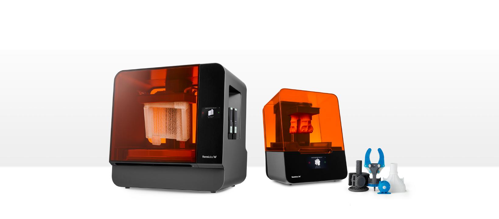 Máy in 3D Formlabs xuất hiện trên thị trường từ rất lâu. Được sự hậu thuẫn từ team R&D (nghiên cứu phát triển) mạnh nhất thế giới. Formlabs phát triển nhanh trên thị trường khốc liệt của máy in 3D và giữ một thị phần đáng nể. Hiện tại ở Việt Nam, Máy in 3D Formlabs đang được sử dụng trong nhiều ngành nghề khác nhau: Máy in 3D mảng nha khoa. Máy in 3D mảng nữ trang, đúc mẫu chảy. Máy in 3D tạo mẫu nhanh. Máy in 3D sản xuất nguyên liệu cứng sử dụng trực tiếp.