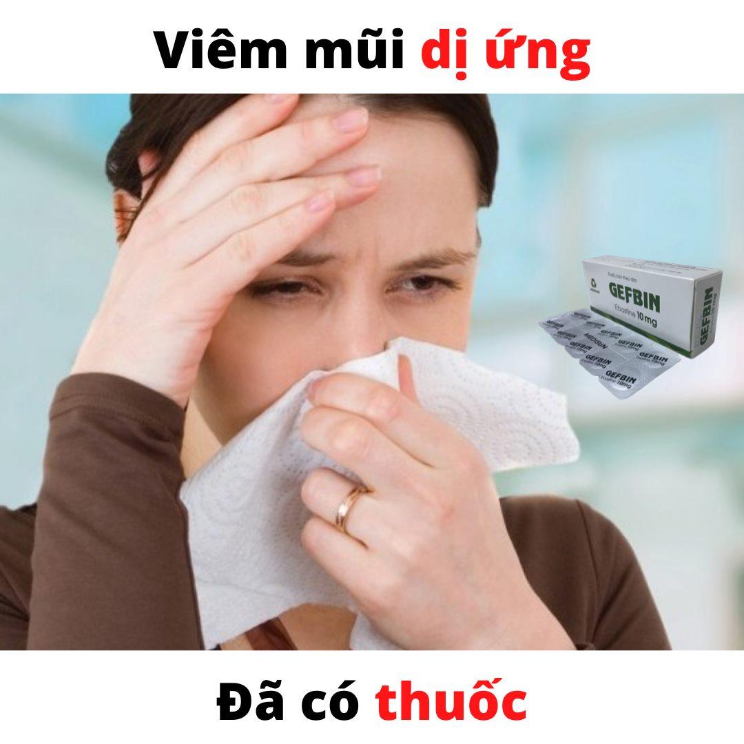 Bệnh viêm mũi dị ứng