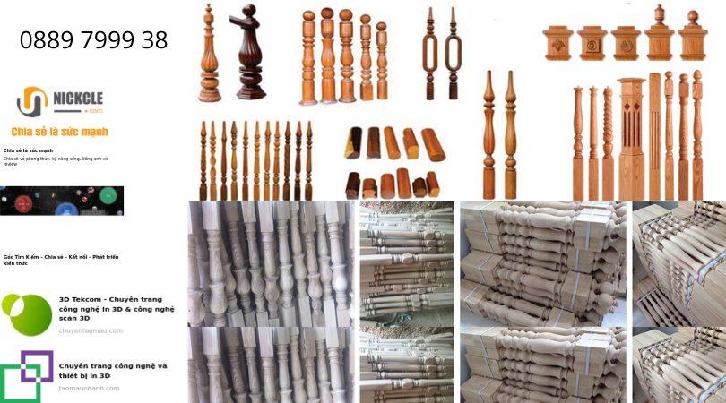 Gia công gỗ và gia công tiện gỗ